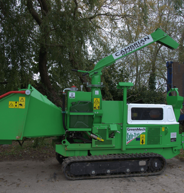 GREENMECH SAFE-Trak 19-28 MK1 8inch Tracked Wood Chipper 3