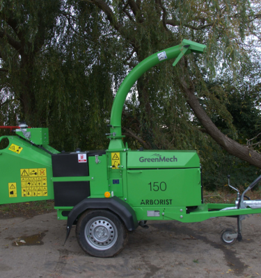 GreenMech 34hp Arborist 150 6 inch Towed Wood Chipper 2015 1