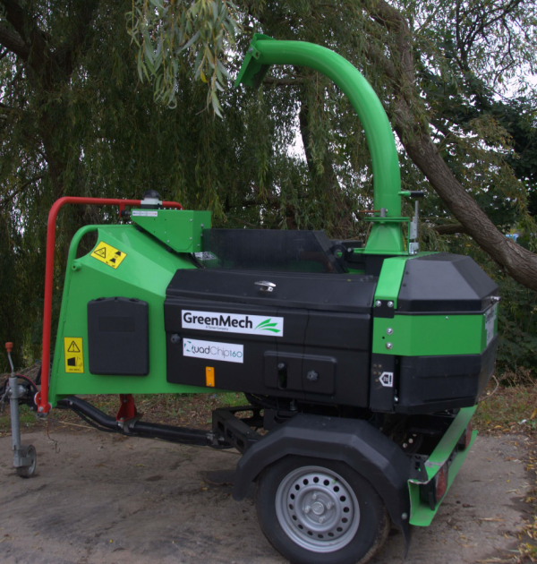 GreenMech QuadChip 160 Wood Chipper 2014 2