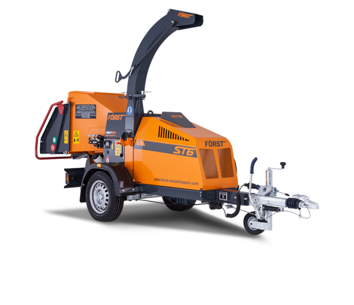 Forst ST6 Towable Wood Chipper
